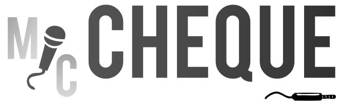 mic Cheque logo