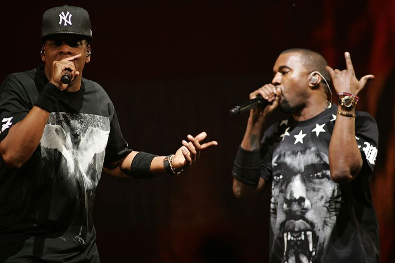 "Jay-Z And Kanye West ""Watch The Throne"" Tour In Kansas City"