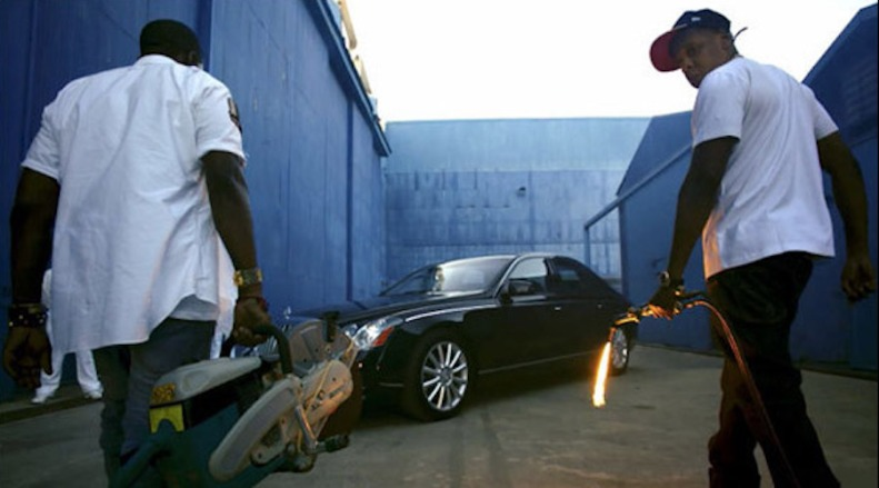 The Throne Maybach