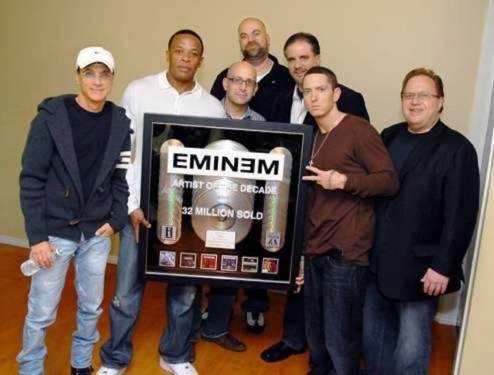 Eminem plaque